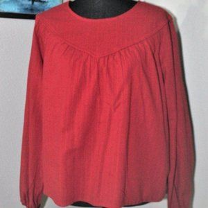 Universal Thread red blouse LARGE